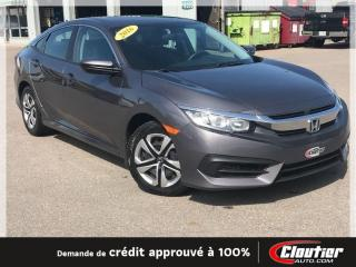 Used 2016 Honda Civic LX for sale in Trois-rivieres, QC