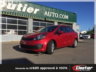 Used 2016 Kia Rio LX for sale in Trois-rivieres, QC