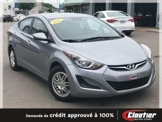 Used 2016 Hyundai Elantra L for sale in Trois-rivieres, QC