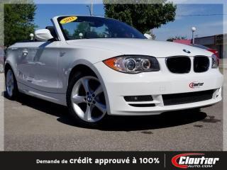 Used 2011 BMW 1 Series 128 Toit Souple for sale in Trois-Rivières, QC