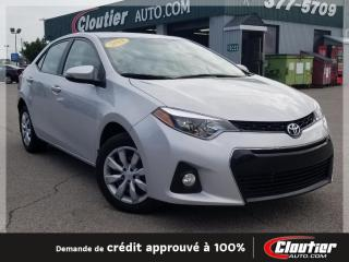 Used 2014 Toyota Corolla S for sale in Trois-rivieres, QC