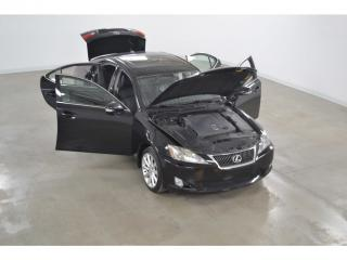 Used 2009 Lexus IS 250 Awd Premium Cuir for sale in Charlemagne, QC