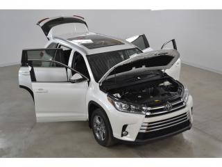 Used 2017 Toyota Highlander Ltd Gps Cuir Toit for sale in Charlemagne, QC
