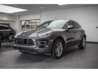 Used 2015 Porsche Macan Turbo Sport Chrono for sale in Laval, QC