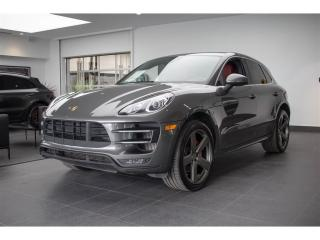 Used 2016 Porsche Macan Turbo Premium Pack for sale in Laval, QC