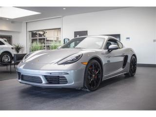 Used 2017 Porsche 718 Cayman S Premium Pack Bose for sale in Laval, QC