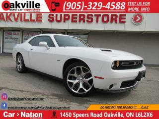 Used 2016 Dodge Challenger R/T| HTD SEATS | NAV | B\U CAM |LOW KM!| for sale in Oakville, ON