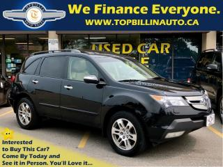 Used 2009 Acura MDX 1 OWNER, CLEAN ACCIDENT HISTORY for sale in Concord, ON