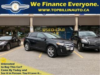 Used 2011 Ford Edge Limited AWD, Navi, Pano Roof, Backup Cam for sale in Vaughan, ON