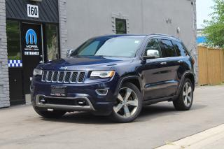 Used 2015 Jeep Grand Cherokee Overland*Diesel*Every Option*Pano Roof*NAV*Pwr Gat for sale in Mississauga, ON