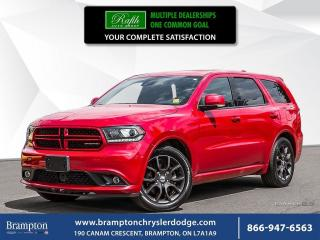 Used 2017 Dodge Durango R/T | AWD | EX CHRYSLER COMPANY DEMO | for sale in Brampton, ON