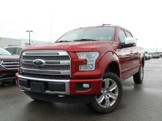 Used 2016 Ford F-150 PLATINUM 5.0L V8 for sale in Midland, ON