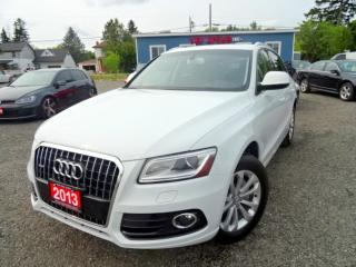 Used 2013 Audi Q5 QUATTRO PREMIUM/NAVI/LEATHER//PANO ROOF/CERTIFIED for sale in Guelph, ON