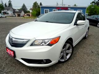 Used 2015 Acura ILX Tech PKG Navigation Sunroof Camera Certified for sale in Guelph, ON
