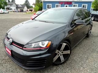 Used 2017 Volkswagen Golf GTI GORGEOUS/NAVI/SUNROOF/BACK-UP/CERTIFIED for sale in Guelph, ON