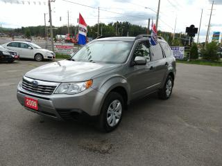 Used 2009 Subaru Forester (Natl) X w/Premium Pkg for sale in Barrie, ON