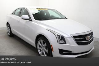 Used 2015 Cadillac ATS Turbo for sale in Terrebonne, QC