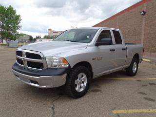 Used 2015 RAM 1500 4WD QUADCAB SXT Accident Free,  Back-up Cam,  Bluetooth,  A/C, for sale in Edmonton, AB