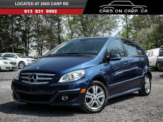 Used 2009 Mercedes-Benz B200 B-CLASS for sale in Ottawa, ON