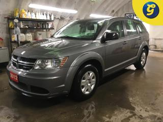 Used 2012 Dodge Journey SE*PHONE CONNECT*VOICE RECOGNITION*PASSIVE ENTRY* S PUSH BUTTON IGNITION*DUAL CLIMATE CONTROL*CLOTH SEATS*AUTOMATIC W/MANUAL MODE*POWER WINDOWS/MIRROR for sale in Cambridge, ON