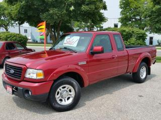 Used 2009 Ford Ranger SPORT RWD for sale in Cambridge, ON