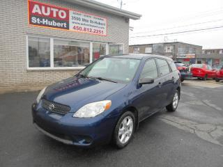 Used 2007 Toyota Matrix TOUT EQUIPE ** A/C FROIDE ** for sale in Saint-hubert, QC