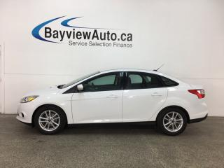 Used 2014 Ford Focus - ALLOYS! HTD SEATS! A/C! PWR GROUP! CRUISE! for sale in Belleville, ON