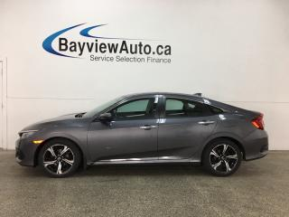 Used 2017 Honda Civic Touring - REMOTE START! SUNROOF! HTD FRONT & REAR LTHR! NAV! ADAPTIVE CRUISE! HONDA LINK! for sale in Belleville, ON