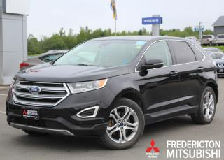 Used 2015 Ford Edge Titanium AWD | HEATED/COOLED LEATHER | NAV | BACK UP CAM for sale in Fredericton, NB
