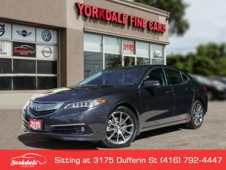 Used 2015 Acura TLX V6 Elite Navigation, Camera, 37000 KM ! for sale in Toronto, ON