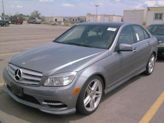 Used 2011 Mercedes-Benz C-Class for sale in Brampton, ON