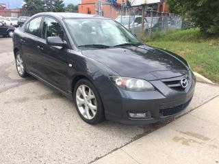 Used 2007 Mazda MAZDA3 S,AUTO,MAG,M/ROOF,166 K,SAFETY+3YRS WARANTY INCLUD for sale in North York, ON