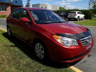 Used 2009 Hyundai Elantra GL A/C for sale in Drummondville, QC
