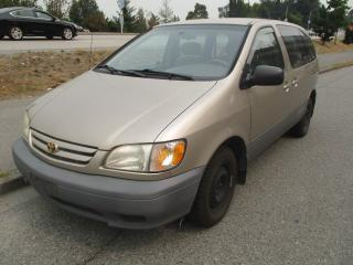 Used 2001 Toyota Sienna CE for sale in Surrey, BC