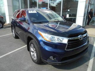 Used 2015 Toyota Highlander LE SPORTY FULL SIZE SUV for sale in Halifax, NS