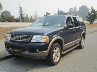 Used 2003 Ford Explorer Eddie Bauer for sale in Surrey, BC