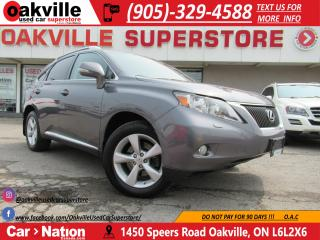 Used 2012 Lexus RX 350 AWD | LEATHER | SUNROOF | ACCIDENT FREE for sale in Oakville, ON