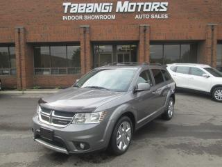 Used 2012 Dodge Journey R/T | AWD  | NAVIGATION | REAR CAMERA | LEATHER | BIG SCREEN for sale in Mississauga, ON