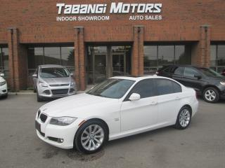 Used 2011 BMW 3 Series NAVIGATION | NO ACCIDENT | LEATHER  | SUNROOF | XDRIVE for sale in Mississauga, ON
