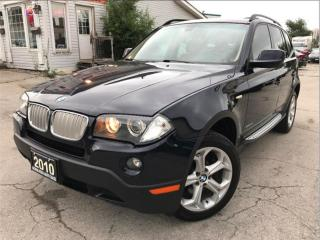 Used 2010 BMW X3 AWD|Leather|Sunroof|Alloys Wheels|Accident Free for sale in Burlington, ON