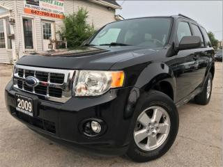 Used 2009 Ford Escape XLT|Leather|Sunroof|Bluetooth|Accident free for sale in Burlington, ON
