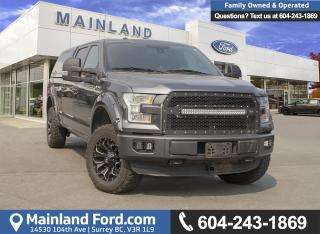 Used 2016 Ford F-150 Lariat *Locally Driven* for sale in Surrey, BC