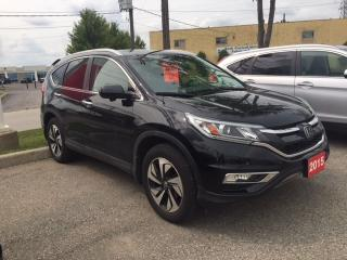 Used 2015 Honda CR-V Touring Bluetooth, Back Up Camera, Navigation, and More! for sale in Waterloo, ON
