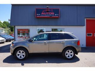 Used 2012 Ford Edge SEL AWD for sale in Saint-romuald, QC