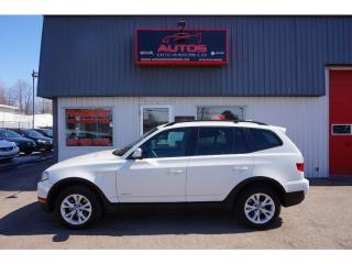 Used 2010 BMW X3 xDrive for sale in Saint-romuald, QC