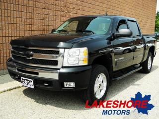 Used 2009 Chevrolet Silverado 1500 Z71 | 4x4 Crew Cab | CERTIFIED | AUTO for sale in Waterloo, ON