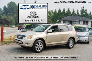 Used 2008 Toyota RAV4 4WD Limited, 4-Cylinder, Leather, Sunroof, Loaded! for sale in Surrey, BC