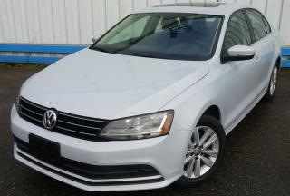 Used 2017 Volkswagen Jetta Wolfsburg Edition *SUNROOF* for sale in Kitchener, ON