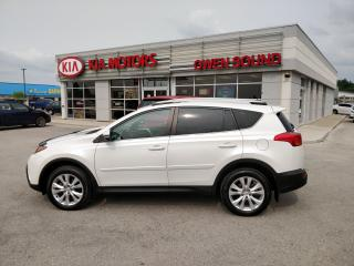 Used 2015 Toyota RAV4 LIMITED  for sale in Owen Sound, ON