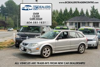 Used 2002 Mazda Protege5 ES 5-Speed, 4-Cylinder, Wagon, PWR Group for sale in Surrey, BC